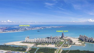 Cập nhật tiến độ xây dựng Forest City Malaysia - Tháng 10/2020