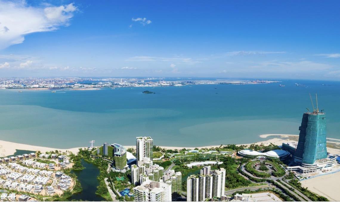 Forest City cách Singapore chỉ 2km